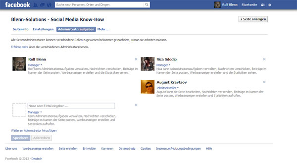 facebook gruppe übernehmen