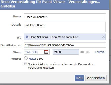facebook zeigt meinen geburtstag nicht an
