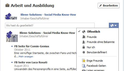 Eigenes facebook profil ansehen ohne freundschaft